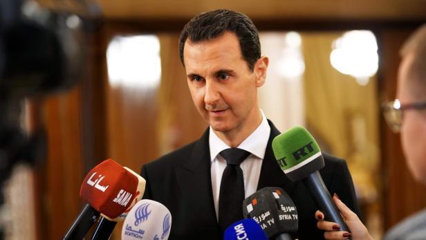 Syriens Präsident Bashar al-Assad