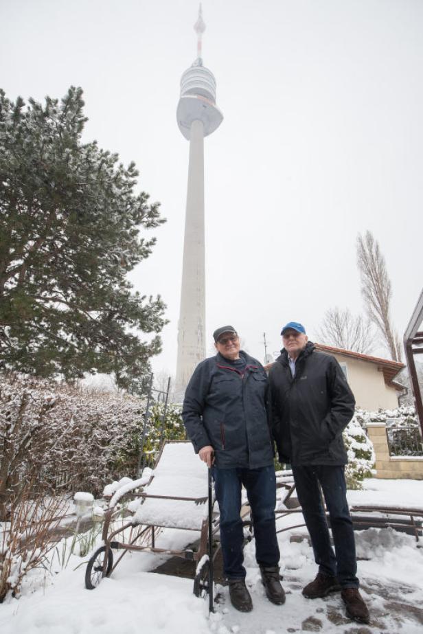Interview mit den Kleingartenbewohnern  Baar Josef...