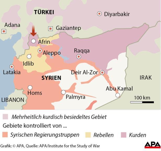 Türkei - Offensive gegen Kurdenmiliz