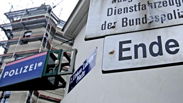 Wachzimmer, Polizei, Urban Loritz Platz…