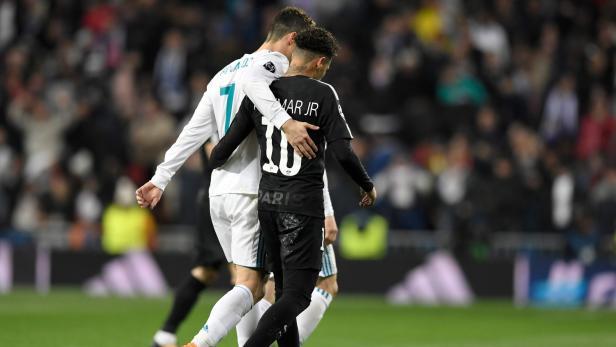 Im Duell der Superstars hatte Ronaldo die Nase vorne.