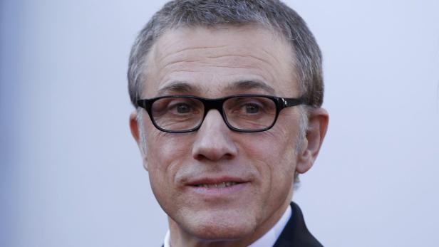 Actor Christoph Waltz  arrives at the 85th Academy