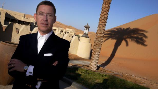 Der Doktor als Netzwerker: Wolfgang Penzias vertritt Österreich in Arabien