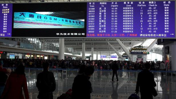 Willkommen im Süden von China, Landung in der Mehr-als-zehn-Millionen-Stadt Guangzhou