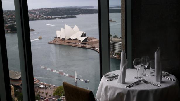 Entspannte Atmosphäre: Die George Street in Sydney kommt Europäern vertraut vor