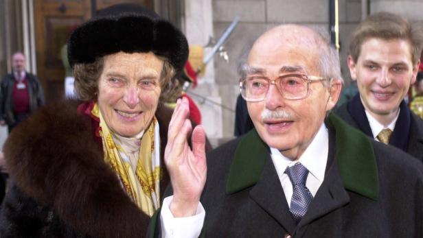 """An dieser Stelle in der """"Gruftkapelle"""" der Kapuziner wird das Ehepaar Regina und Otto Habsburg am kommenden Samstag bestattet"""