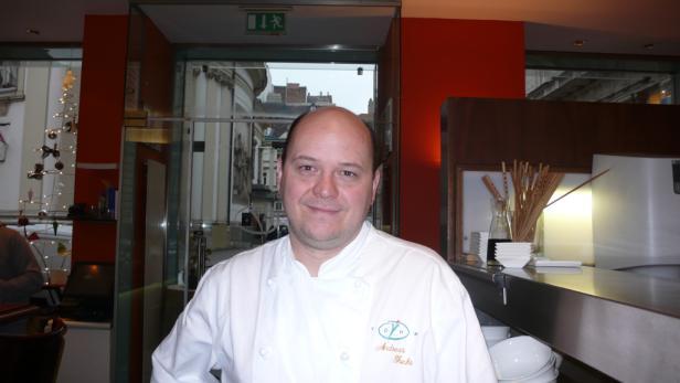 Andreas Fuchs, Küchenchef des Yohm.