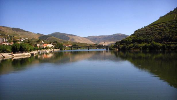Der Douro sorgt für ein Mikroklima.