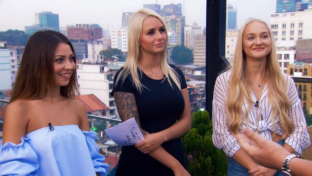 Kristina, Carina und Svenja