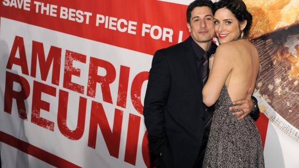 Privates Glück: Jim-Darsteller Jason Biggs mit seiner Ehefrau Jenny Mollen