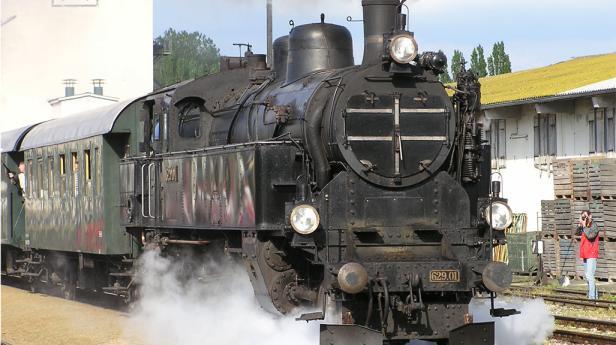 175 Eisenbahn /  Dampflok / ÖBB Erlebnisbahn