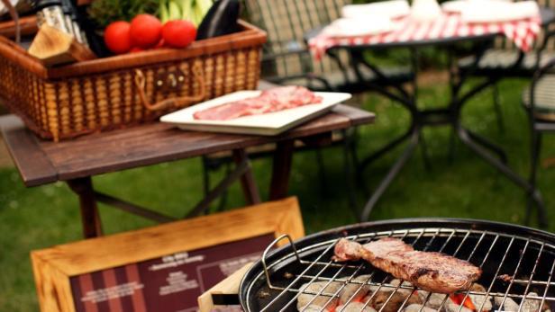 City Barbecue im Imperial Renaissance Hotel, honorarfrei