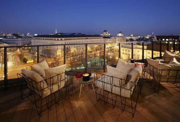 Dachboden, 25 hours Hotel, Wien, 1070, Dachterrasse