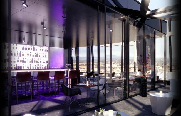 57 Restaurant Lounge, Melia, Dachterrasse, 1220 Wien, Cocktails