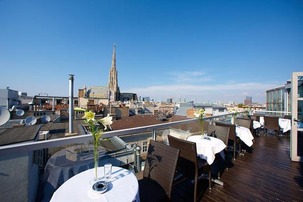 Skybar, 1010 Wien, Dachterrasse, Cocktails, Bar
