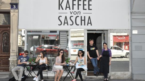 Kaffee von Sascha, Oleksandr Iamkovyi, Pilgramgass…