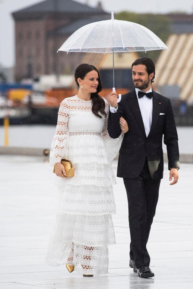 Prince Carl Philip and Princess Sofia of Sweden ar