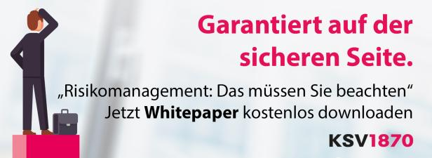 Jetzt KSV1870 Whitepaper Risikomanagement downloaden