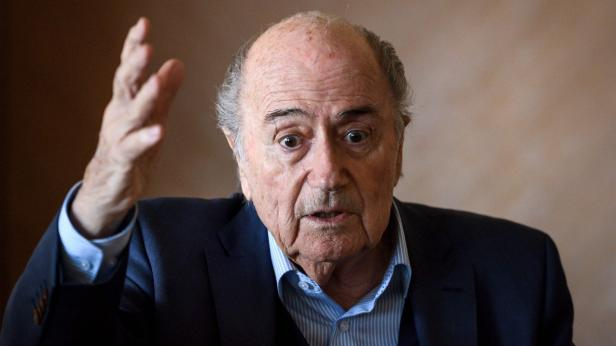 Sepp Blatter fühlt sich wohl.