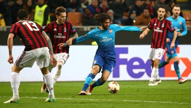 Die Gunners überzeugten in Mailand.