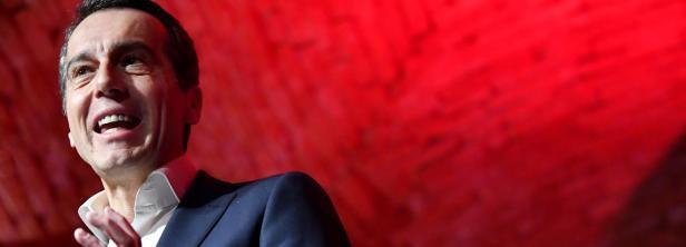 Bild: Kern will Sondersitzung im Nationalrat.