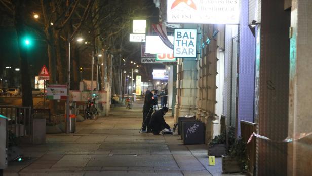 Bild: Tatort in der Praterstraße