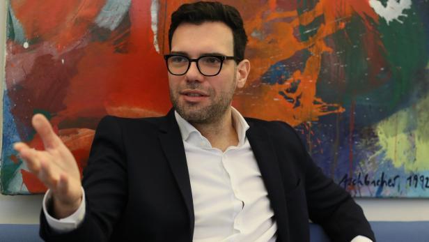 Stadtschulratspräsident Heinrich Himmer.