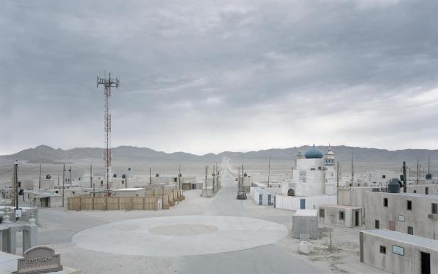 Junction City IV, Fort Irwin, US Army, Mojave Desert, California, USA, 2016