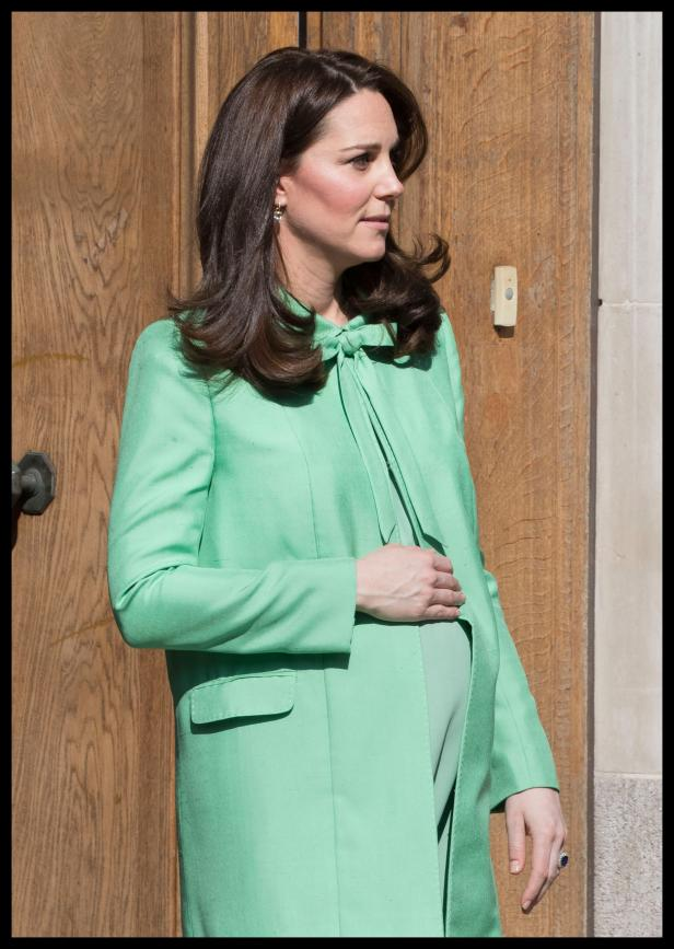 Katherine Kate Princess Catherine Pregnant Baby Bump - Update
