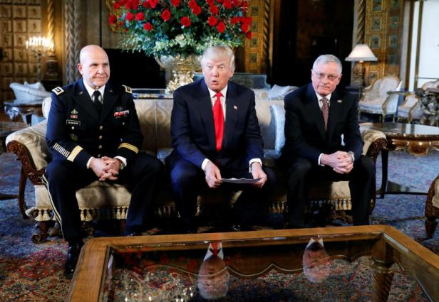 FILE PHOTO: Trump announces Army Lt. Gen. H.R. McMaster as his National Security Adviser at his Mar-a-Lago estate in Palm Beach, Florida