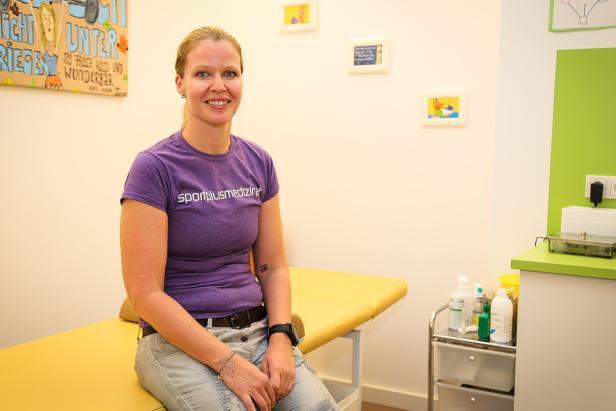 Silke Kranz ist Ernährungs- und Sportmedizinerin und praktische Ärztin in Bad Zell