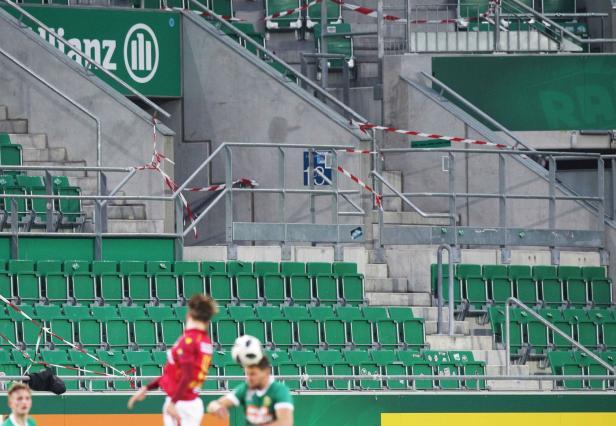 Fussball, Rapid - St. Poelten
