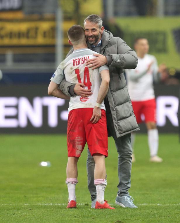Fußball, FC Salzburg - BVB Dortmund,