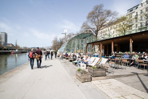 Donaukanal, Adria Wien
