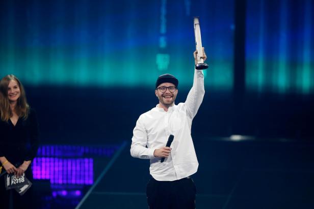 Seinen ersten Echo gewann der Sänger Mark Forster