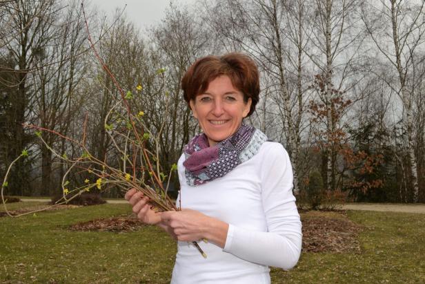 Monika Kronsteiner ist Kräuterexpertin