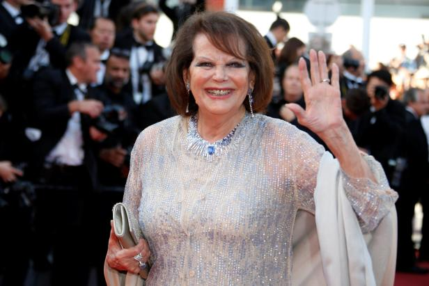 Claudia Cardinale in Cannes 2017