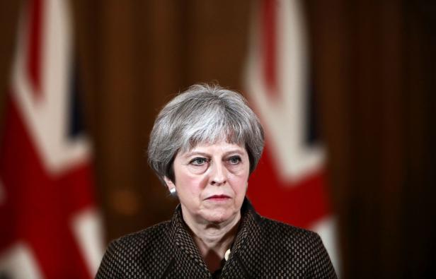TOPSHOT-BRITAIN-SYRIA-CONFLICT-STRIKES