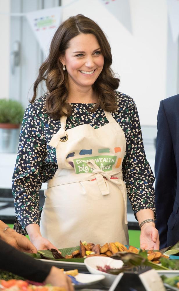 Britain's Duke and Duchess of Cambridge visit St Luke's Community Centre in London