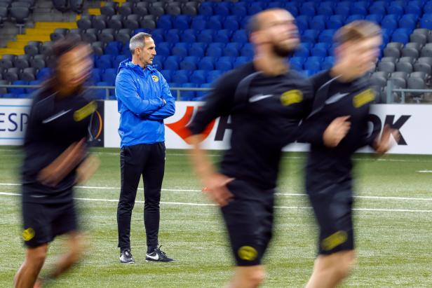Young Boys training session - Astana v Young Boys - UEFA Europa League Group Stage - Group B