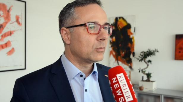 Christof Kastner, Lebensmittelgroßhändler in Zwettl