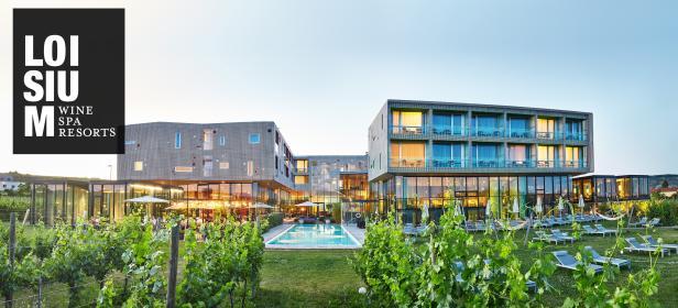 2x eine Übernachtung für zwei Personen vonLOISIUM Wine & Spa Resorts