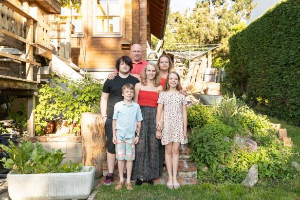Familienfoto der Familie Andel
