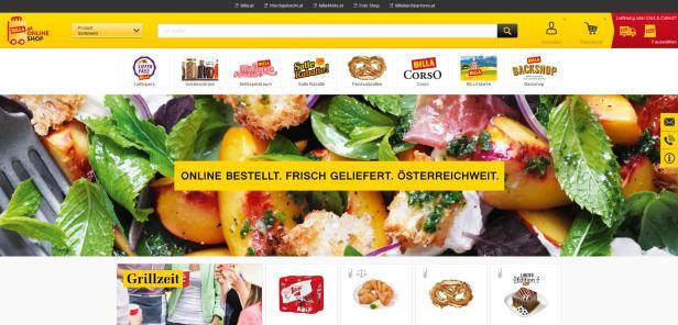 53e9c7192e1d7c Billa eröffnete eigenes Lager für Onlineversand