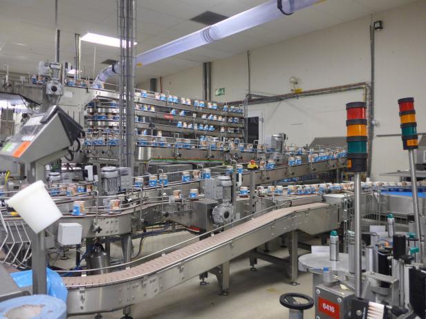 Eis, Fabrik, Ben & Jerry's