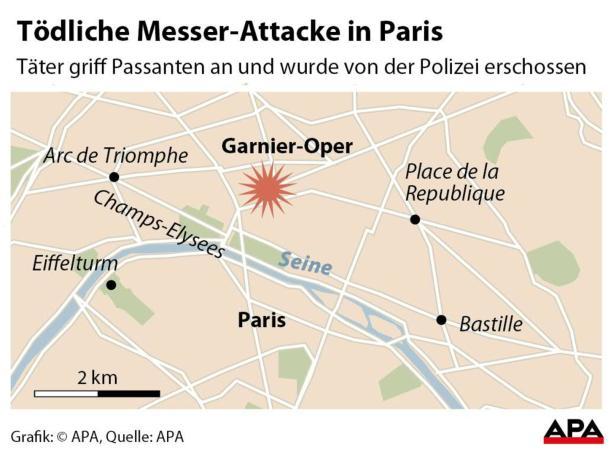 Tödliche Messer-Attacke in Paris