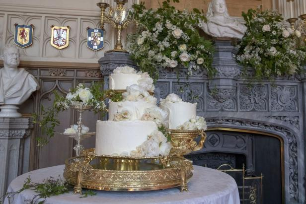 BRITAIN-US-WEDDING-CAKE
