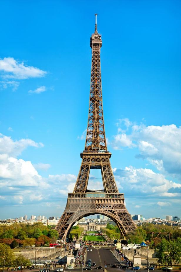 """Eiffel Tower in Paris, France"""