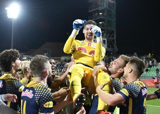 FUSSBALL ÖFB CUP HALBFINALE: SV MATTERSBURG - RB SALZBURG