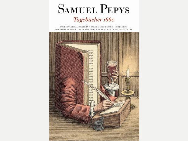 Auf dem Gemälde von John Hayls (National Portrait Gallery) zeigt Samuel Pepys die Noten eines von ihm komponierten Liedes.